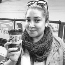 COFFEEUFEEL - My last cup of delicious #HavanaCoffee on our last subway ride. On our last day in #Argentina 😩😭 sad our trip is over. But happy to go home and see my #niece...