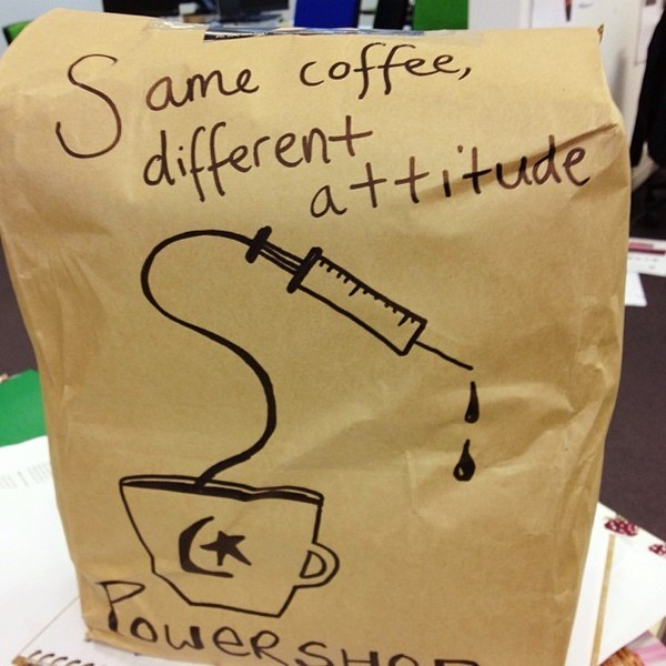 COFFEEUFEEL - Monday morning coffee delivery in the Powershop office. Thanks #havanacoffee