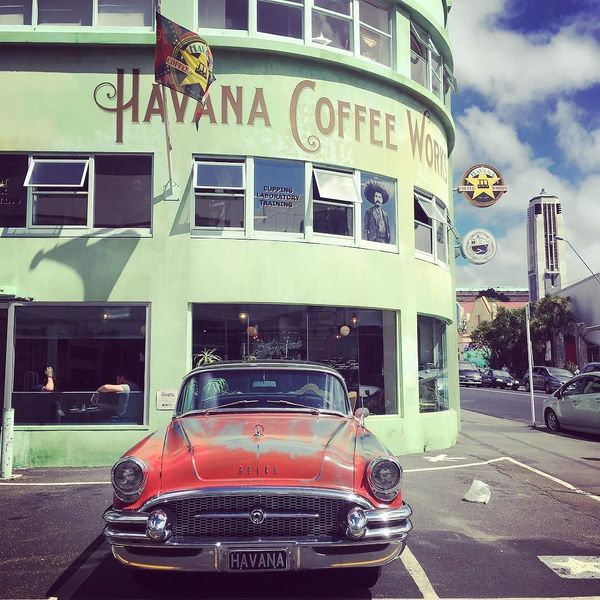 COFFEEUFEEL - HAVANA COFFEE WORKS The heady aroma of beans roasting next door hits you first, then comes the flying #coffee kick at this Tory St joint