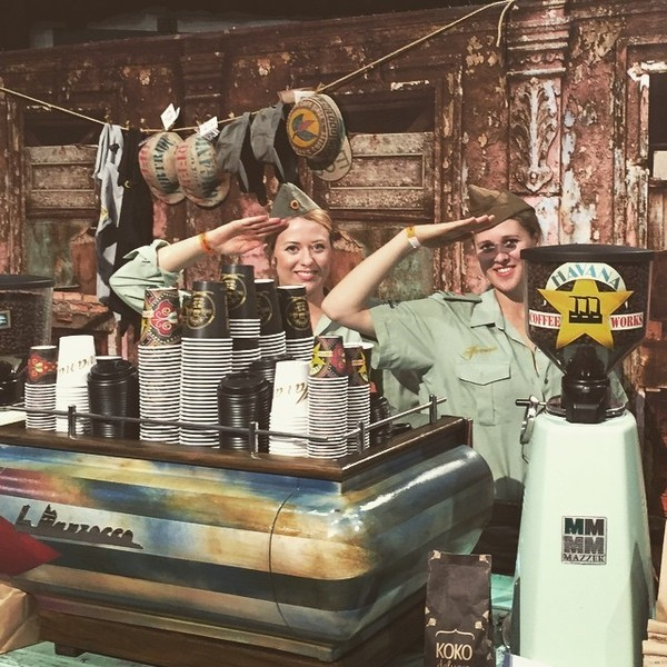 COFFEEUFEEL - Go support the awesome team Havana, let these two lovely ladies make you a fantastic brew, all procedes are going to help Vanuatu. YOU ROCK HAVANA...