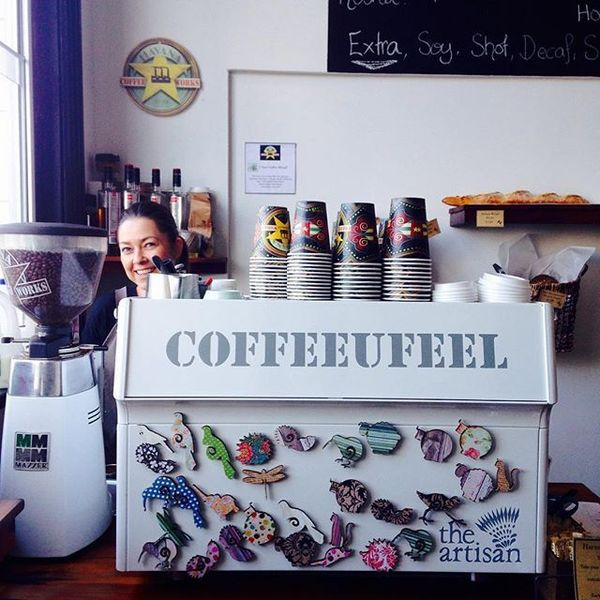 COFFEEUFEEL - Go see the lovely ladies at the_artisan_cafe for the #COFFEEUFEEL!!!